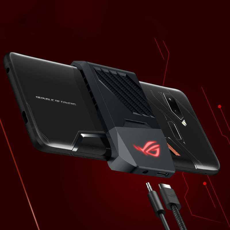 Asus ROG Phone ZS600KL Smartphone 6.0 inch Gaming Phone Android 8.1 8GB 128GB Snapdragon 845 Octa Core 4000mAh  Smartphone 3