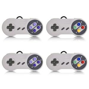 USB 2.0 PC Gamepad Wired Game Controller Cordless Joypad Gaming Machine Controller SNES Game Pad for Windows PC