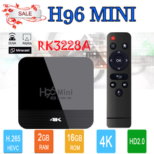 Android tv box h96 mini h8 in set top box
