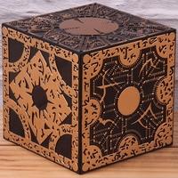 Головоломка коробка хеллрайзер фильм ужасов ПВХ Коллекционная Фигурка модель игрушки жалование конфигурации Кубик Рубика 10 см