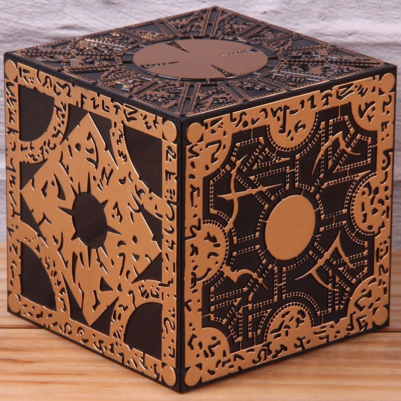 Puzzle Box Hellraiser Horror Movie PVC Collectible Action Figure Model Toy Lament Configuration Rubik's Cube 10cm
