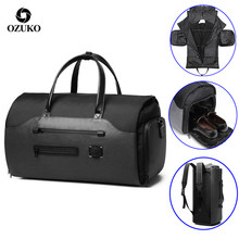 Handbag Duffel-Bag Suit-Storage Shoes-Pocket Luggage Travel Large-Capacity Waterproof