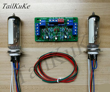 Dupla 6e2 tubo olho de gato kit placa motorista diy amplificador
