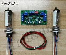 Kit de placa de controlador de ojo de gato de tubo Dual 6E2, amplificador DIY