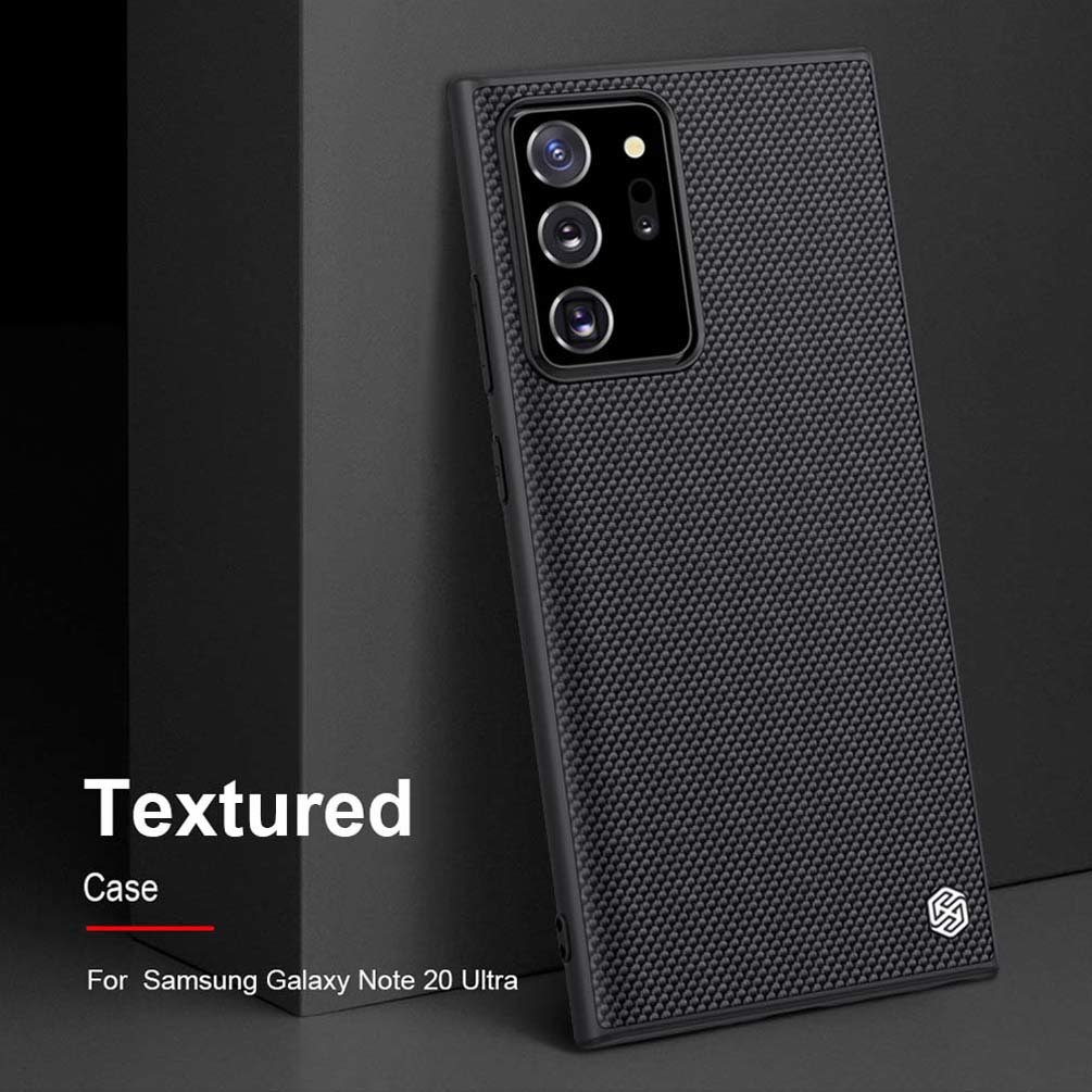 For Samsung Note 20 NILLKIN Textured nylon fiber case back cover for Samsung Galaxy Note 20 Ultra 5G phone case durable non-slip