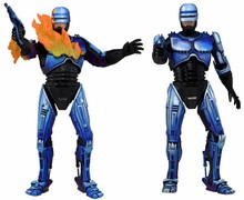 Фигурка NECA Robocop VS Terminator Series 2, экшн-фигурка с изображением поврежденного огнемет, модель игрушки 18 см
