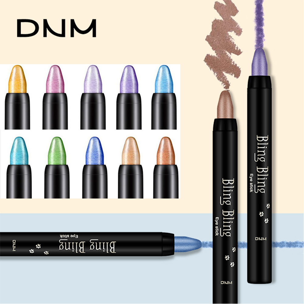 DNM High Quality Eye Shadow Pen Professional Beauty Makeup Highlighter Eyeshadow Pencil 16 Colors Pearl Eye Shadow Cosmetic