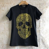 PPFRIEND mercerized cotton breathable T shirt men brand clothing funny printed T shirt male quality 100% cotton ADT701162