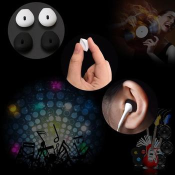 Silicone Earphone case Earpads for iphone5 5s 6 6plus 6s 6splus 7 In-Ear Airpod Earbuds Tips eartips