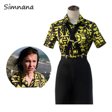 3-Eleven Cosplay Strange Outfit Costume Story Girl Halloween Women Blouse Carnival