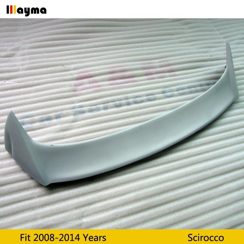 OSIR стиль стекловолокно крыла Спойлер для Scirocco 1,4 T O Стайлинг FRP праймер серый задний спойлер крыла 2008 2013 год