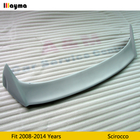 OSIR Style Fiber glass Roof wing spoiler For Scirocco 1.4T O styling FRP Primer gray rear wing spoiler 2008 2013 year