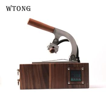 WTONG  handheld customized logo leather hot stamp machine logo branding machine heat press hot foil stamping machine цена 2017