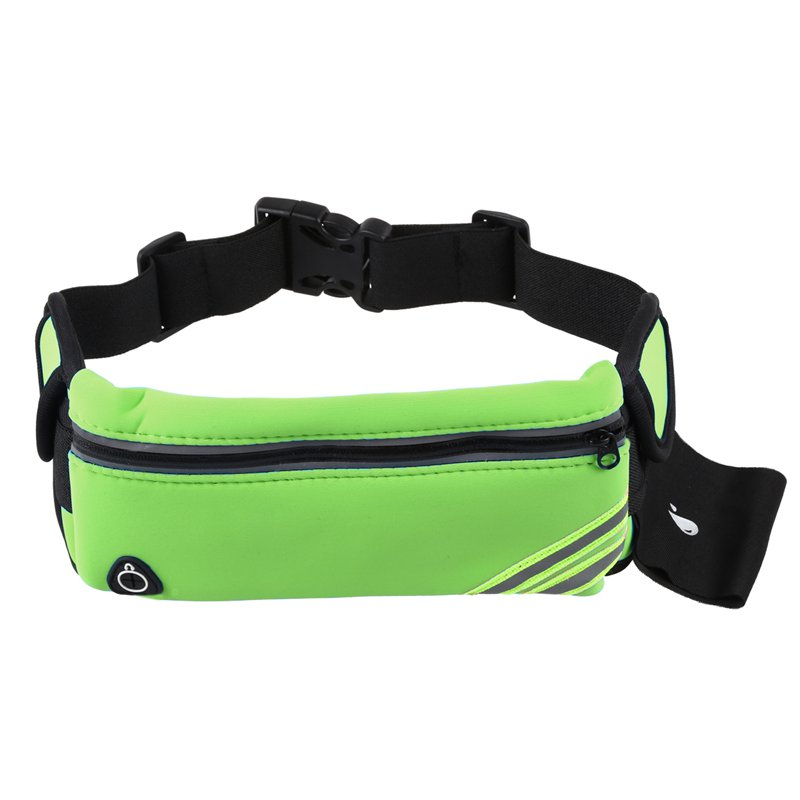 BEAU-Running Belt Waist Pack Pouch Reflective Water Resistant Cell Phone Holder Bag For Workout Sports Walking Fitness Exercise