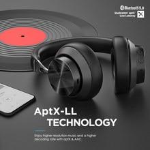 Mixcder E10 Drahtlose Kopfhörer aptX Niedrigen Latenz HD Bluetooth 5,0 Headset 40mm Aktive Noise Cancelling für Handys PC TV