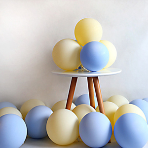 Image 5 - 20pcs Macaron Balloon 1st Happy Birthday Decorations First Birthday Boy Girl Party Kids Adult Baby One Year Birthday Decor 21 40