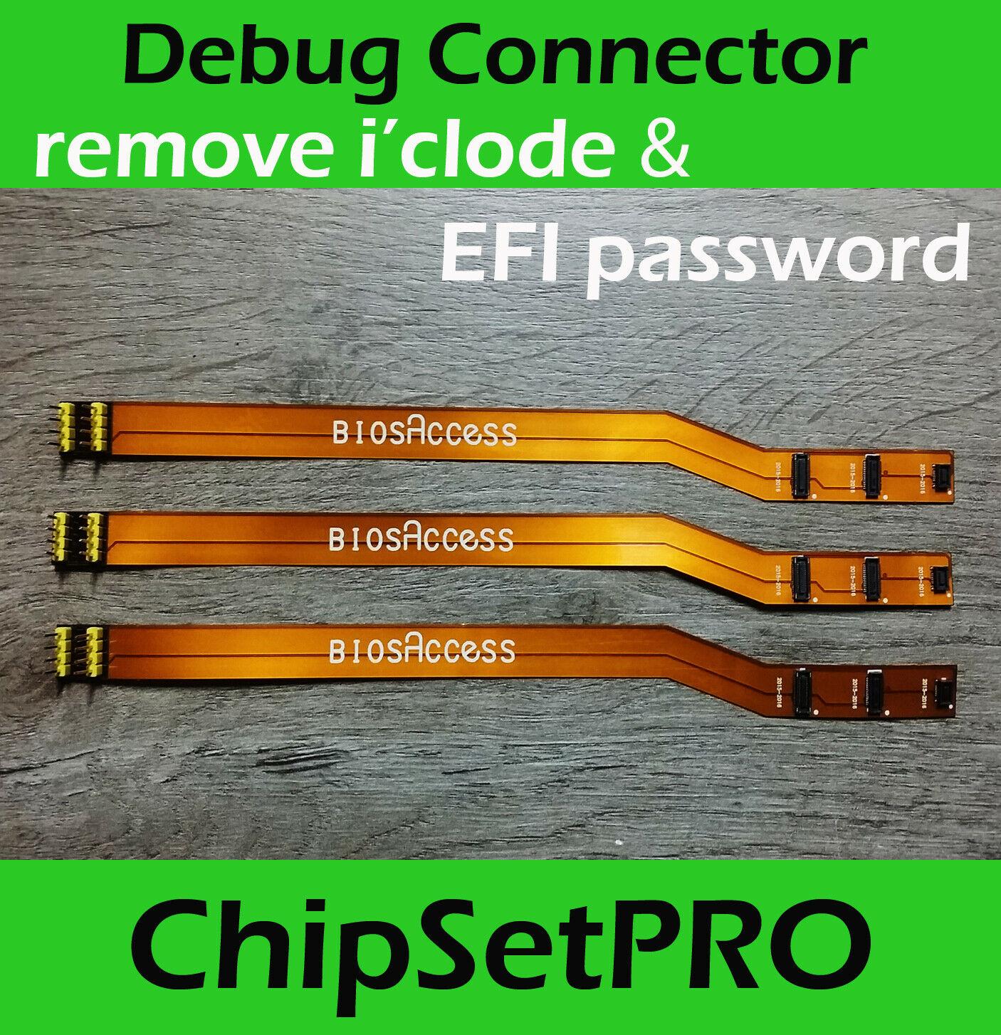 SPI SWD SAM EFI ROM Debug Connector FLASH BOOTROM Cable Icloud For Apple Macbook PRO EFI SPI Cable