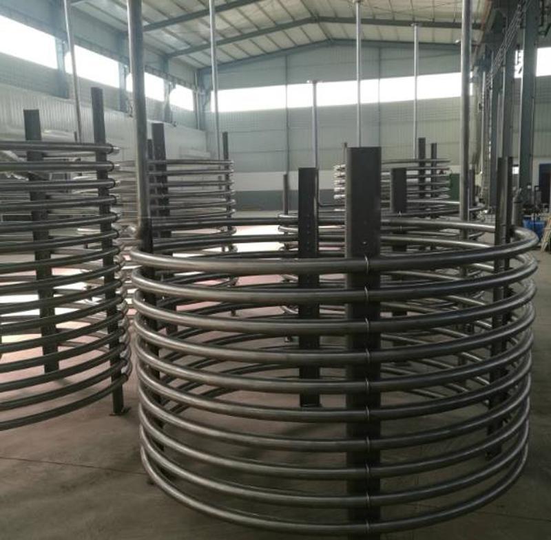 Горячая Распродажа ASTM B337 ASTM B338 Gr1, Gr2 сильные антикоррозийные свойства titanium трубчатый змеевик для теплообменника TA1 титановая катушка ed pip Оборудование контроля температуры      АлиЭкспресс