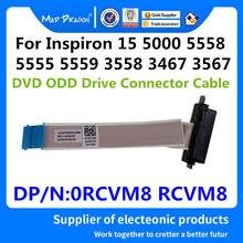 Nova originais Unidade Óptica Conector Inspiron15 ODD Cabo Para Dell 5558 3558 5555 5559 3458 3467 3567 Laptop AAl20 0RCVM8 RCVM8