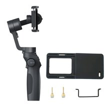 Funsnap Capture2 Stabilizer Gimbal Handheld with Sports Camera Adapter Plate for GOPRO Action 4/5/6/7 Smartphone
