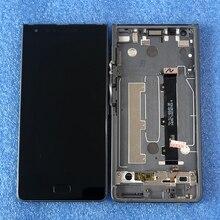 """الأصلي 5.5 """"لبلاك بيري موشن شاشة عرض LCD مع الإطار + لوحة اللمس شاشة محول الأرقام لبلاك بيري موشن"""
