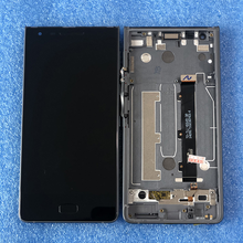 "Original 5.5 ""para blackberry motion display lcd com moldura + painel de toque digitador da tela para blackberry movimento"