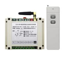 AC220V 250V 380V 30A 2CH 100 3000m Long Range Remote Control Switch Transmitter+ Receiver for Appliances Gate Garage Door