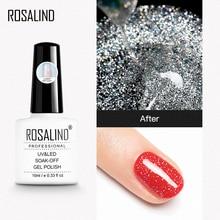 Laser-Top-Coat Polish Glitter Gel-Lacquer ROSALIND for Nail-Vernis Semi Led-Lamp Bright