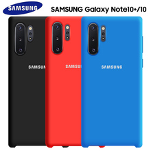 Samsung Note 10 Plus Case Original Official Galaxy S8 S9 S10 S10e 8 9 5G Pro Soft Liquid Silicone Back