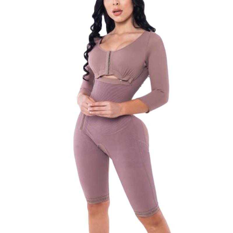 Corsetto da donna Post cintura chirurgica dimagrante Fajas Bodyshaper lungo doppia compressione Shapewear 2