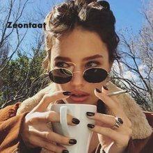 2020 novo metal pequeno oval óculos de sol marca feminina designer doces cor óculos de sol ao ar livre rua oculos sol feminino