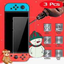 3Pcs Tempered Glass for Nintend Switch Screen Protector 9H 2.5D Protection Film Protective Glass For Nintend Switch Glass