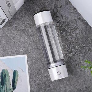 Image 4 - Mini bottiglia di acqua portatile ad alto contenuto di idrogeno Nano Smart MRETOH multifunzione spa/PEM tazza di ionizzatore alcalino regalo per mamma papà