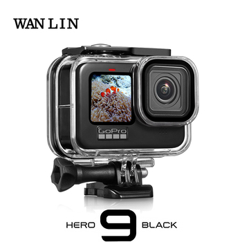 60M Waterproof Case for GoPro Hero 9 Black Protective Diving Underwater Housing Shell Cover for Go Pro 9 Camera Accessory 1
