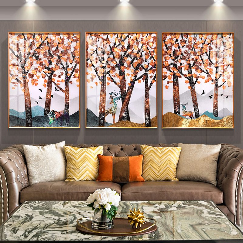 Framed Canvas Painting - Arts & Crafts