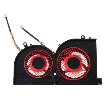 Laptop GPU wentylator chłodzący CPU dla MSI GS63VR GS63 GS73 GS73VR MS-17B1 Stealth Pro procesora BS5005HS-U2F1 GPU BS5005HS-U2L1 chłodnicy tanie i dobre opinie OPEN-SMART NONE CN (pochodzenie) as show Łożyska ze stopu 50 000 godzin Brak RPM 16dBA Obsługa RGB 23-89 CFM 2 Linie