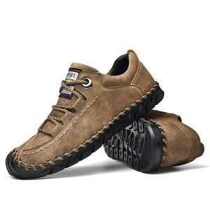Image 4 - מותג קיץ גברים של נעליים יומיומיות רך בעבודת יד מוקסינים גברים נעלי יוקרה מותג אביב אופנה גבר נעלי סירת נעלי מכירה לוהטת