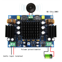 TPA3116D2 High Power Car Audio Amplifier Board DC 12V 150W Mono  TPA3116 Amplifiers Adopt Double System Boost Amplificador
