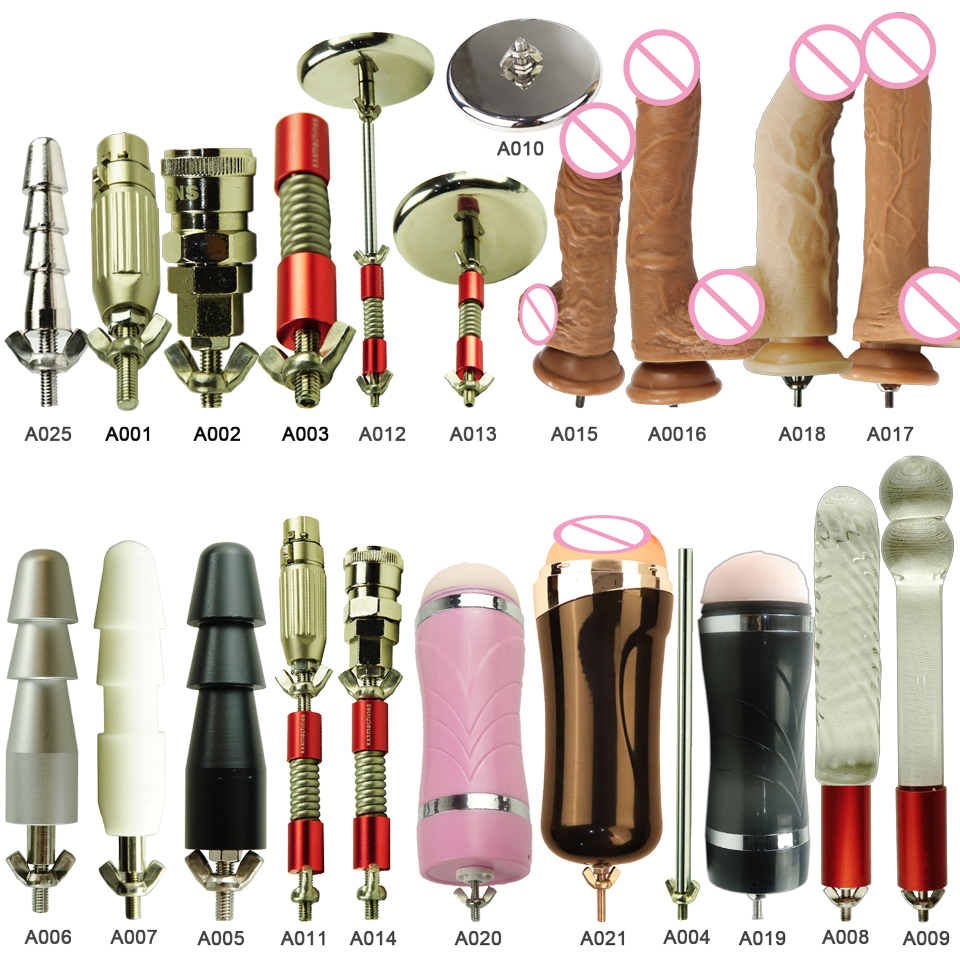 FREDORCH 24 Types Noiseless Premium <font><b>Sex</b></font> <font><b>Machine</b></font> F11 <font><b>Attachment</b></font> American screw <font><b>Dildo</b></font> Suction Cup Love <font><b>Machine</b></font> For Women image