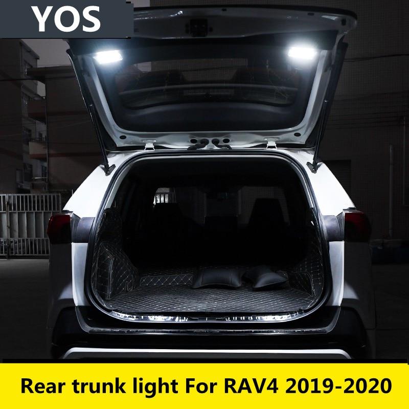 Задний фонарь для кемпинга для TOYOTA RAV4 2019-2020, лампа для чтения в автомобиле, светодиодная подсветка для задней двери 10W 6000K