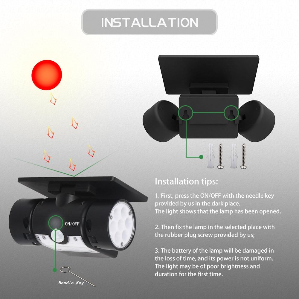 led luz sensor movimento luzes parede 30
