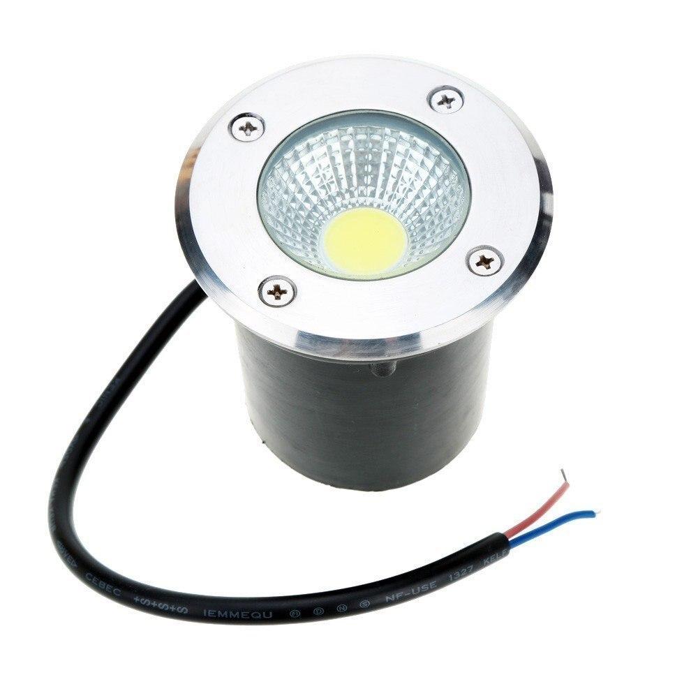 IP68 3W 5W 9W LED Underground Light Ground Garden Path Floor Lamp Outdoor Underground Buried Yard Lamp Landscape Light  220vDC12