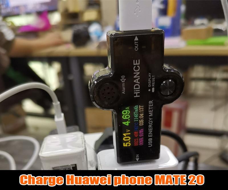 Hcc5fa6fdb70c4691a57c80f7d43be1a5y USB 3.0 TFT 13in1 USB tester APP dc digital voltmeter ammeter voltimetro power bank voltage detector volt meter electric doctor