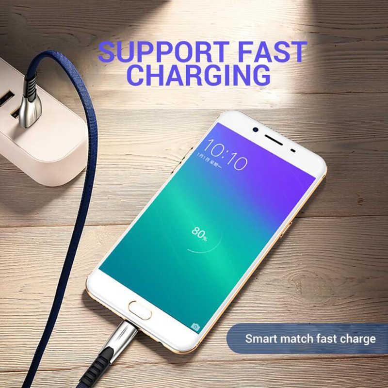 5A マイクロ USB ケーブル高速充電 USB データケーブル同期コード S7 Huawei 社 Xiaomi Redmi 注 4 5 android の microusb 電話ケーブル