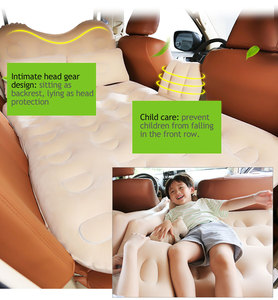 Image 2 - Fresh Car inflatable bed travel mattress car child rear exhaust pad car rear seat car