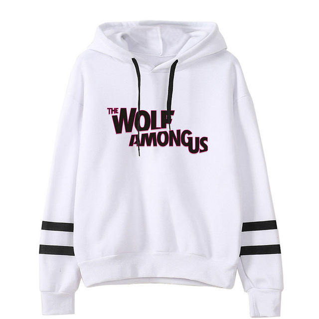 AMONG US THEMED STRIPED HOODIE (25 VARIAN)