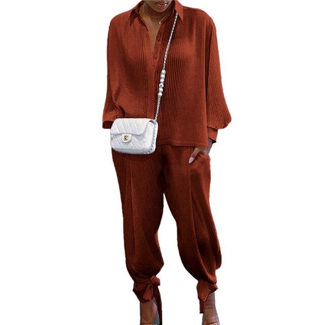 Two Piece Set 'Suit Top Pants Tracksuit 3