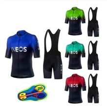 2019 INEOS Cycling team Clothing 20D pad shorts Bike jersey set Ropa Ciclismo Quick Dry Mens pro BICYCLING Maillot Culotte цена и фото