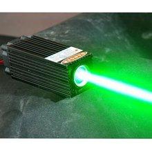 Зеленый лазерный диод точечный модуль грубой луч 532 нм 60 мВт