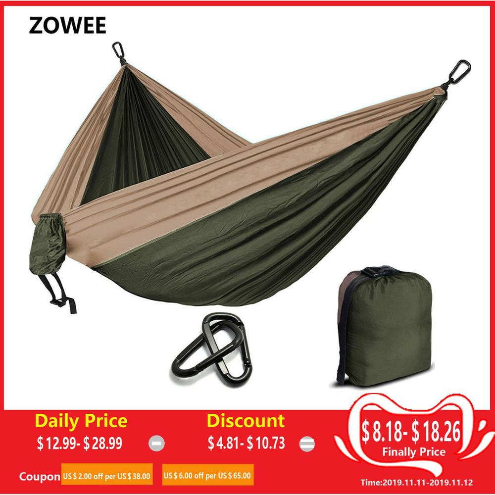 Camping Parachute Hammock Survival Garden Outdoor Furniture Leisure - Perabot